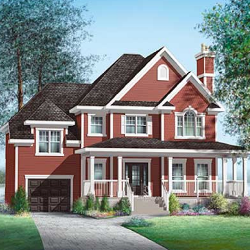 Farmhouse - House Plans
