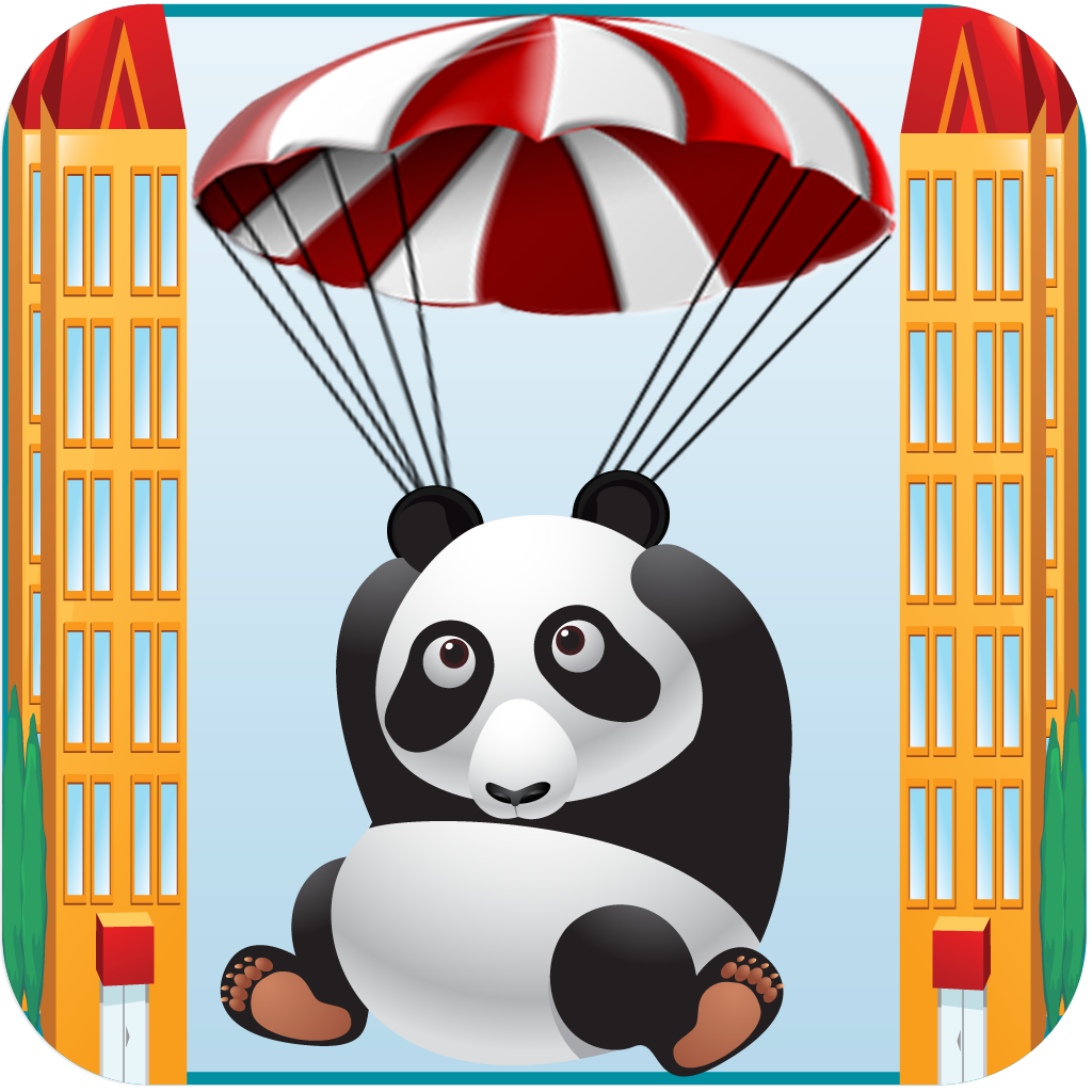 A Panda Parachute Rescue - Fall Down Fun Cute Saga Free